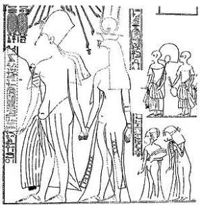 From the Tomb of Huya, Amarna Period, Courtesy of Wikimedia Commons