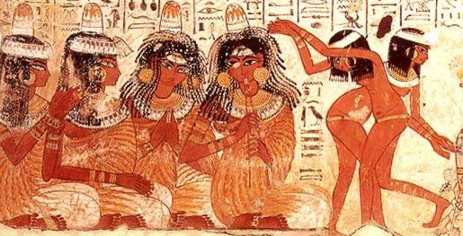 Ancient egyptian virtual temple fanny fae for Ancient egyptian mural paintings